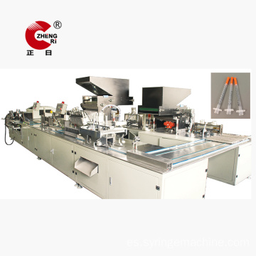Insulin Syringe Unibody Needle Assembly Machine